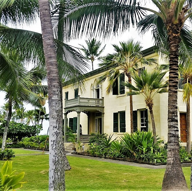 Hulihe'e Palace, home to Hawaiian royalty in Kailua