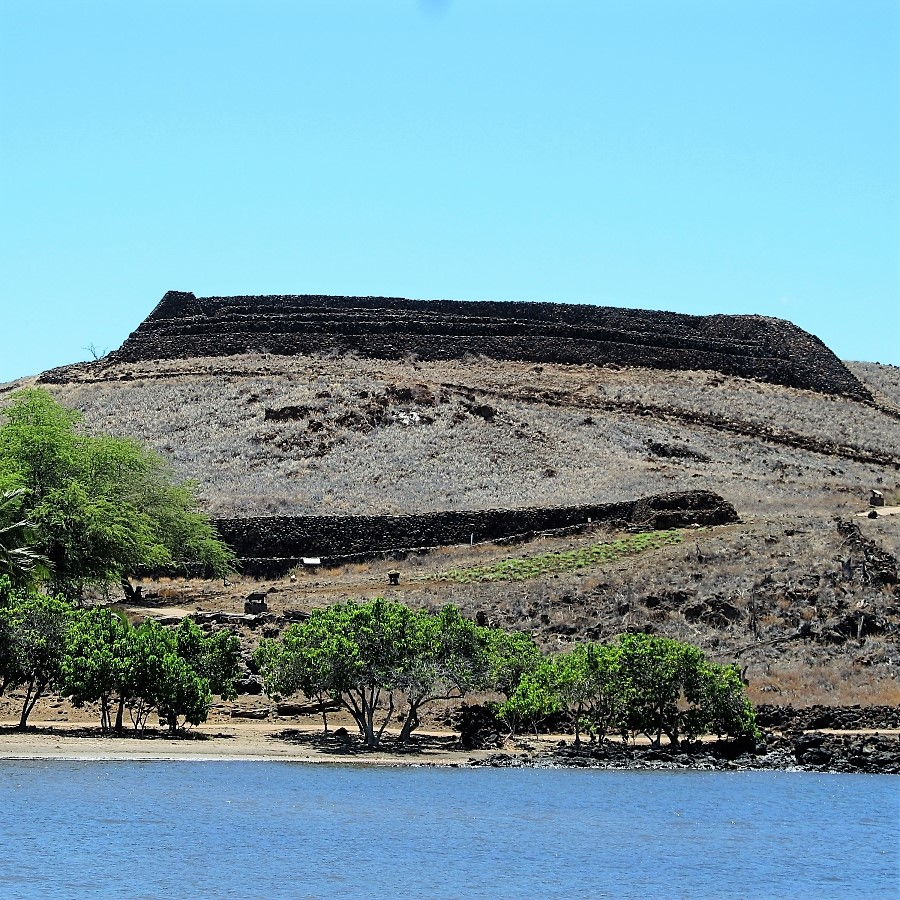Pu'ukohola Heiau, King Kamehameha's temple on Whale Hill