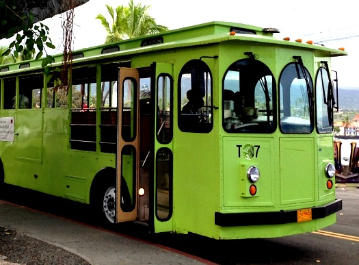 Keauhou Honu Express Trolley