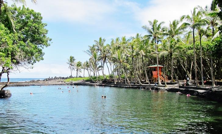 Ahalanui Beach Park - Puna, Hawaii
