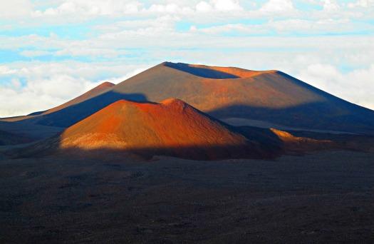 Mauna Kea Volcano summit on the
