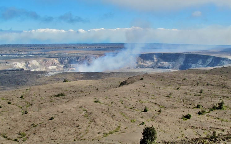 Kilauea Caldera, Halema'uma'u Crater