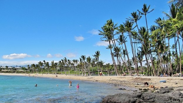Anaeho'omalu Bay Beach