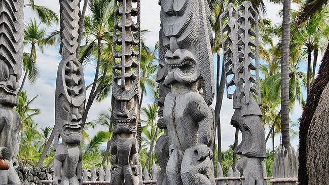 Pu'uhonua o Honaunau City of Refuge Warriors