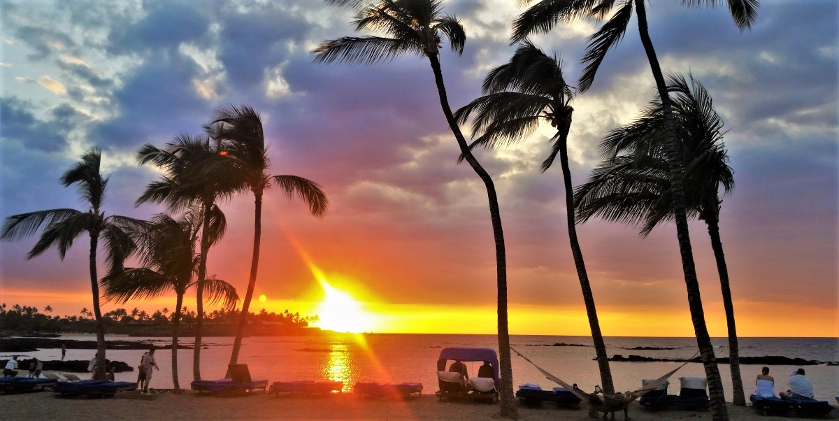 Big Island Hawaii sunset