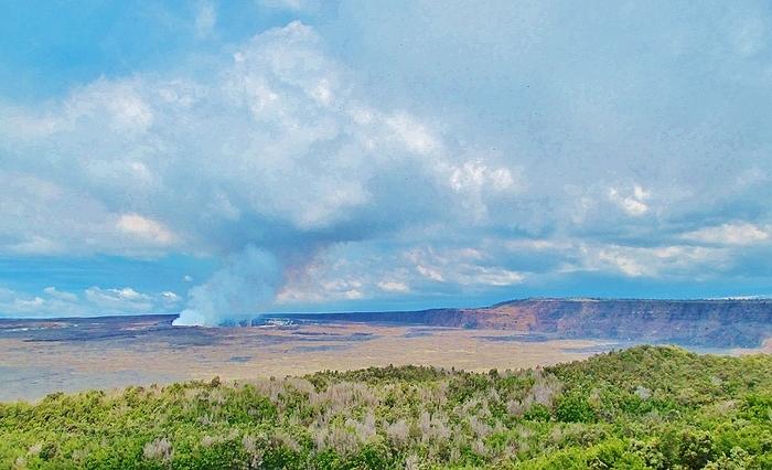 Kilauea Halema'uma'u Crater