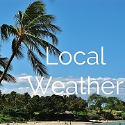 Check current weather forecast for the Big Island.