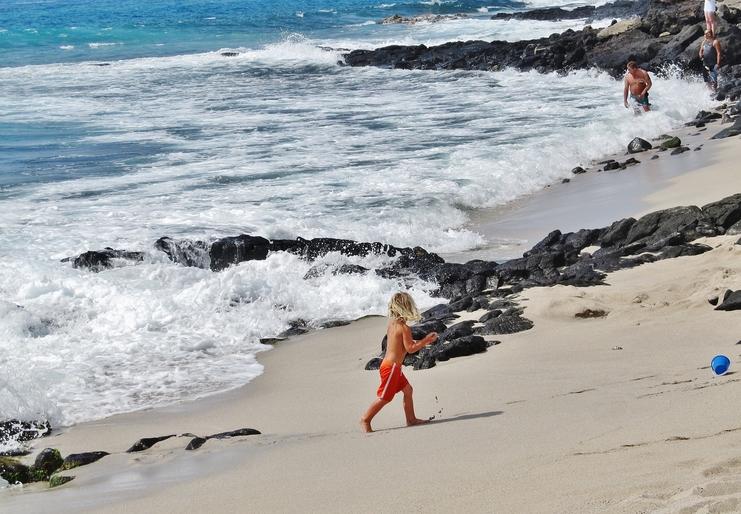 Honl's Beach at Wai'aha Bay