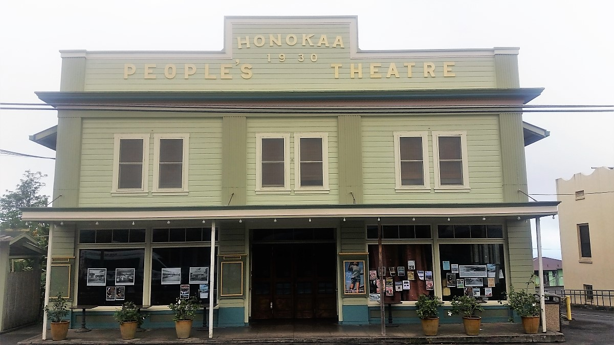 Historic Honoka'a People's Theatre