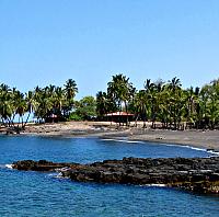 Honomalino Beach