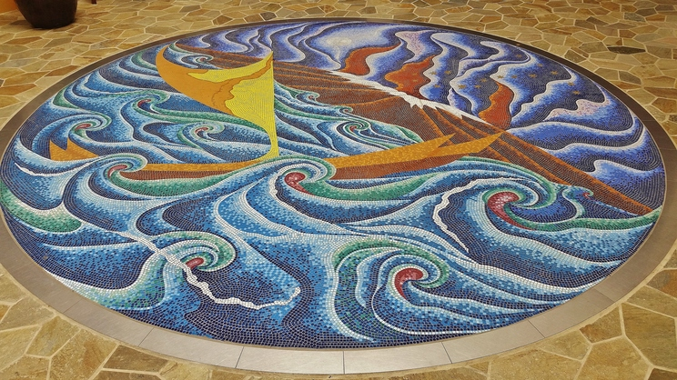 'Imiloa Astronomy Center mosaic