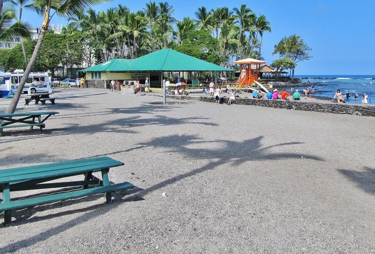 Kahalu'u Beach Park picnic area