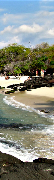 Kekaha Kai State Park offers great beaches and beautiful shoreline hiking along Ala Kahakai Trail