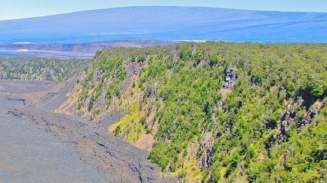 Kilauea Iki Trail Big Island Hawaii