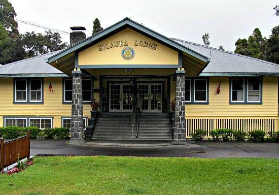 Kilauea Lodge is one of the nicer Big Island restaurants in Volcano Village.