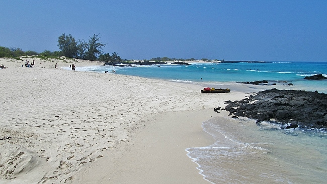 Best White Sand Beach Big Island Hawaii