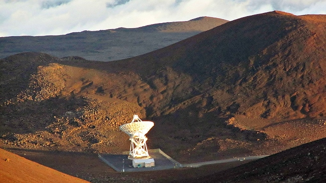 Mauna Kea Observatory VLBA Radio Telescope