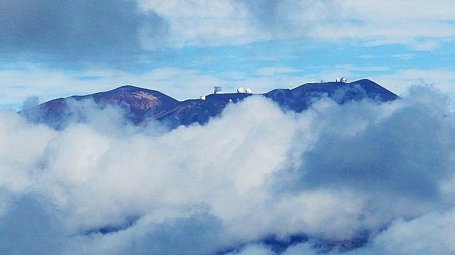 Mauna Kea Volcano summit