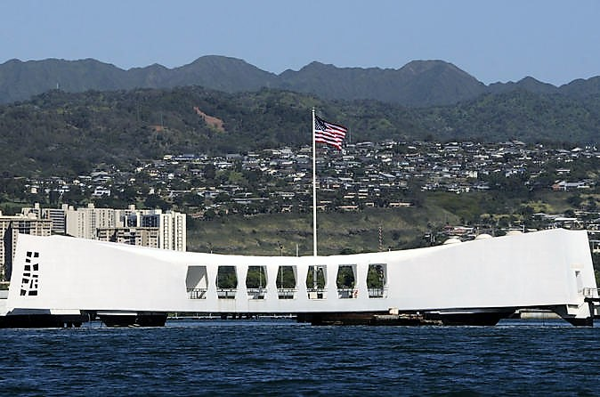 USS Arizona Memorial by Viator