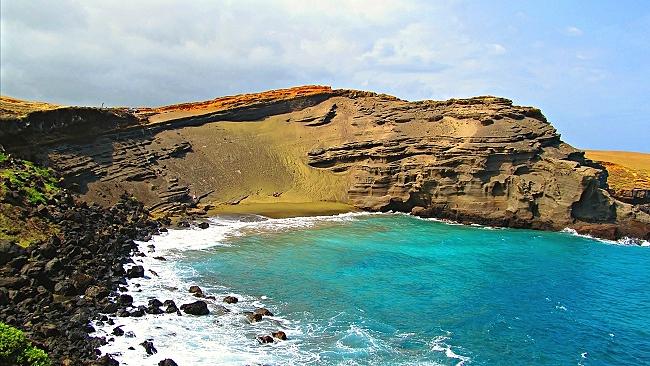 Green Sand Beach Big Island
