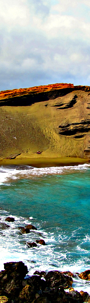 Explore Papakolea Green Sand Beach and other great Hawaii Big Island beaches