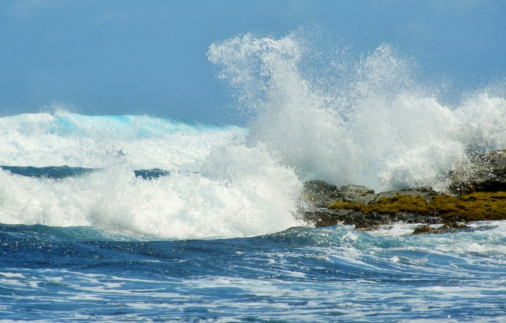 Punalu'u Big Island surf