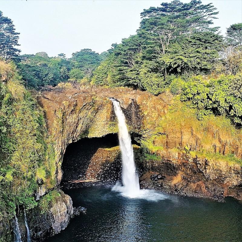 Rainbow Falls Hamakua Coast tour