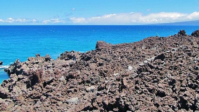A'a lava, Ala Kahakai Trail