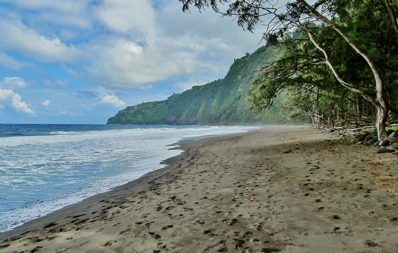 Waipi'o Valley Beach