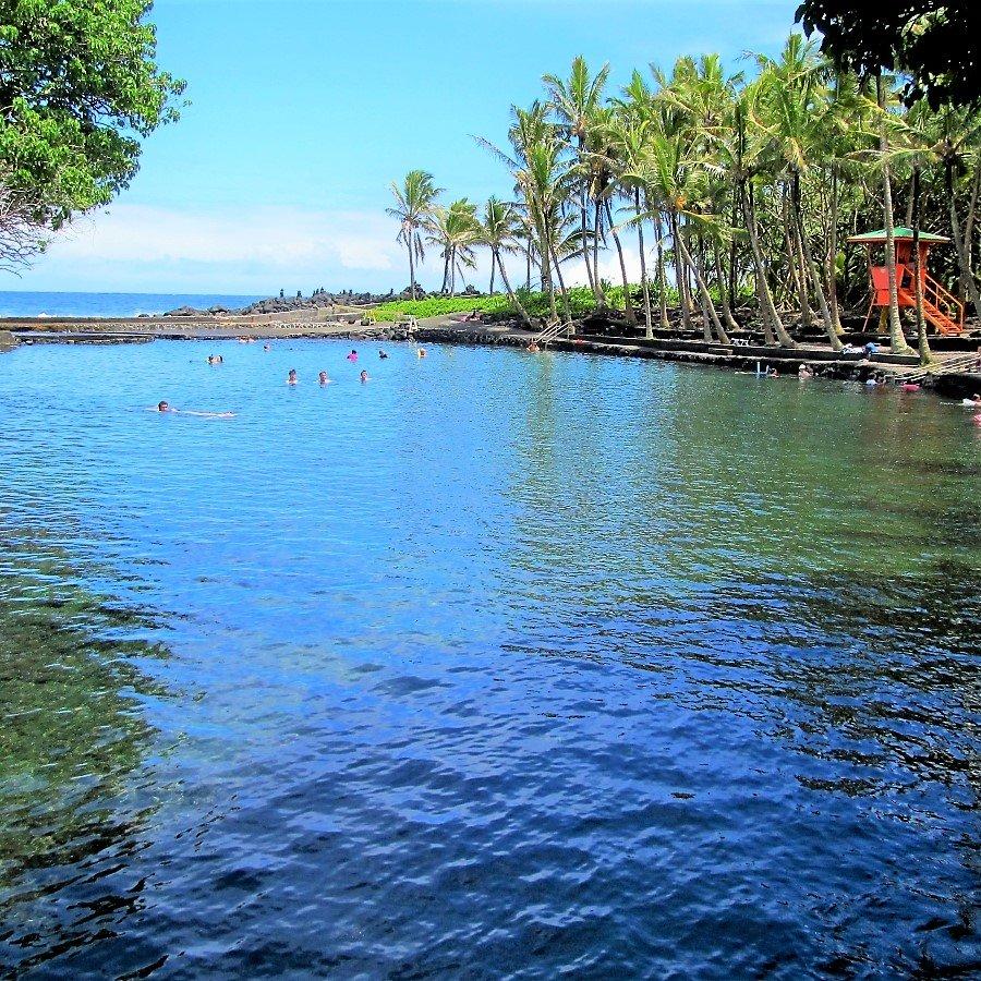 Ahalanui Beach Park Puna Tour