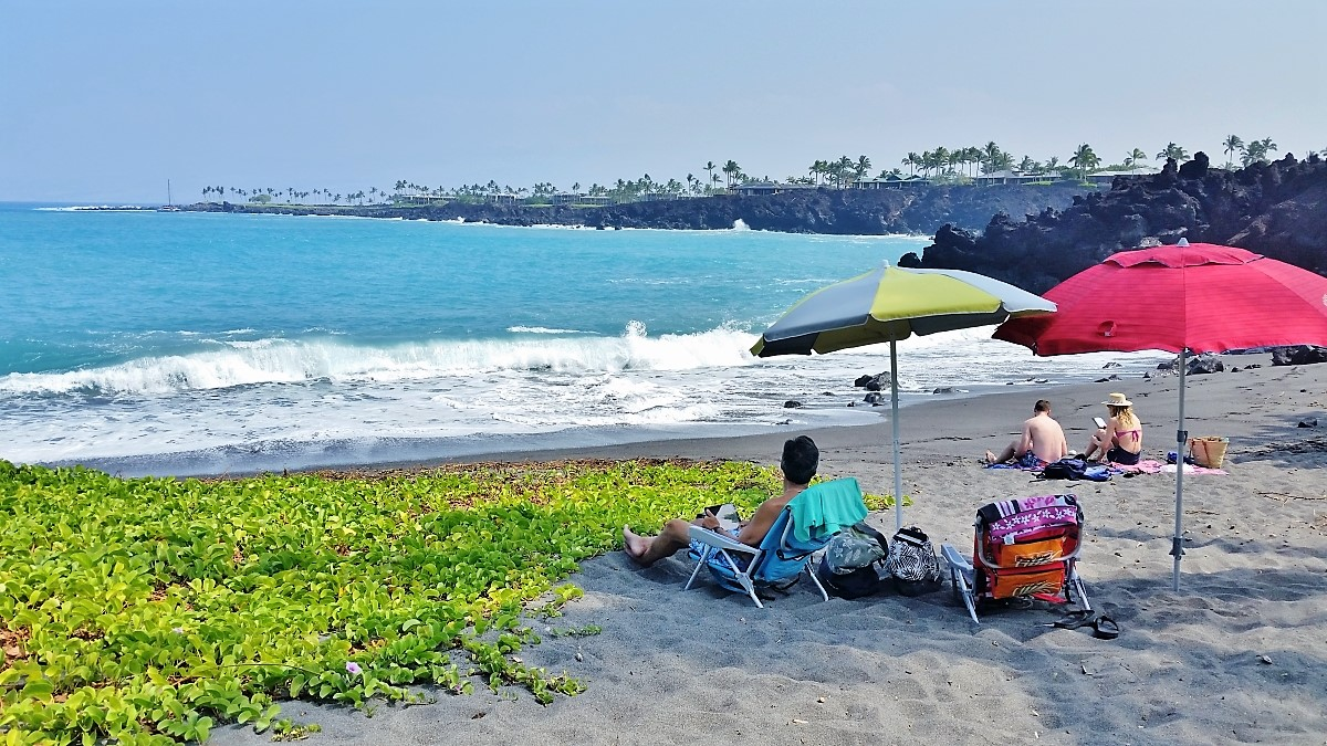 A quiet place to relax at 49 Black Sand Beach