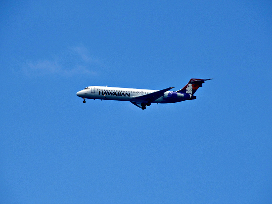 Hawaiian Airlines offers convenient interisland flights into Kona or Hilo