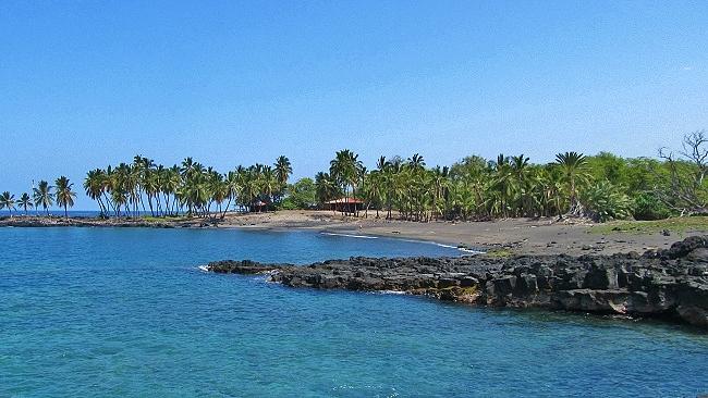 Honomalino Bay Big Island Hawaii
