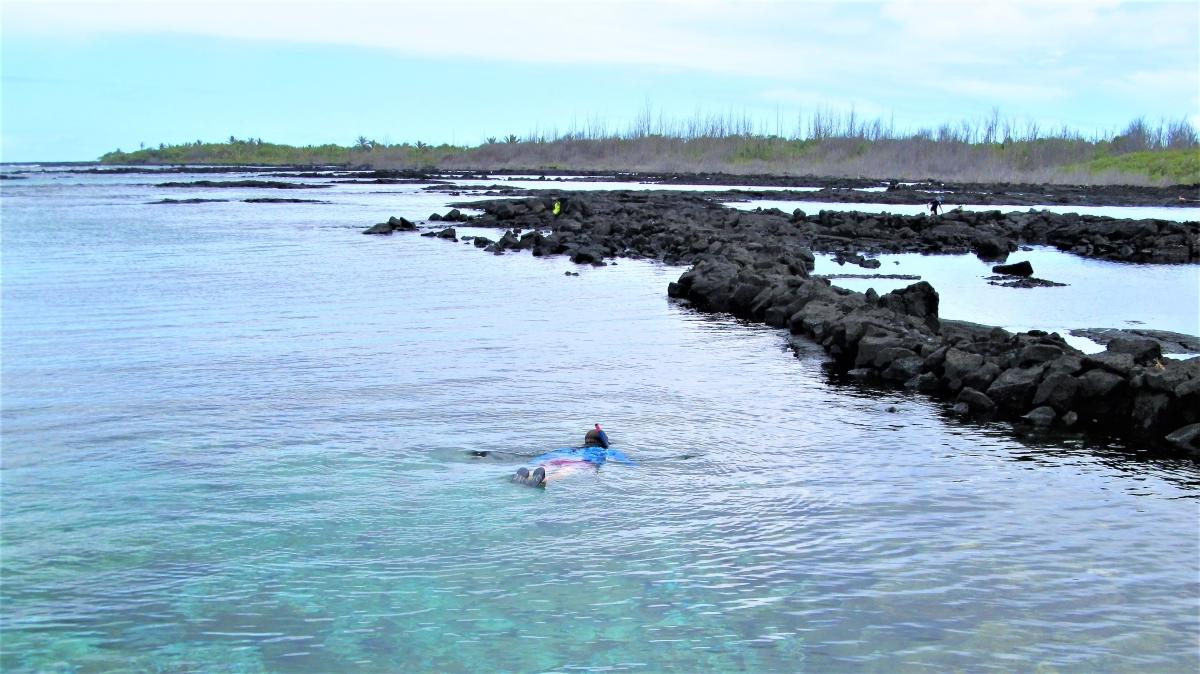 Snorkeling at Kapoho Tidepools