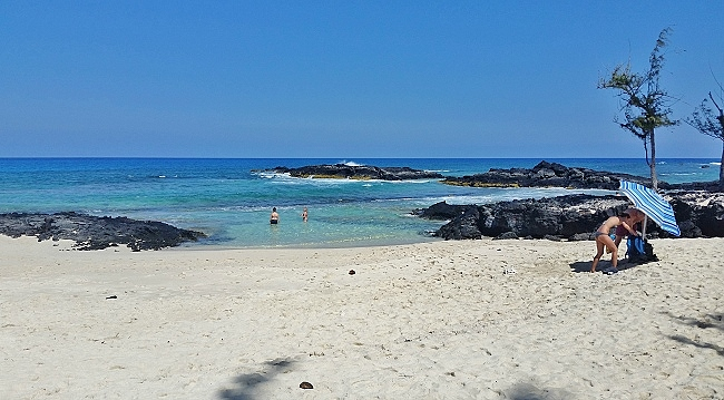 Makalawena Beach on the Big Island