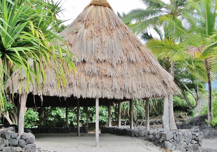 Pu'uhonua o Honaunau Tiki Hut