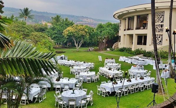 Sheraton Kona Wedding Gardens