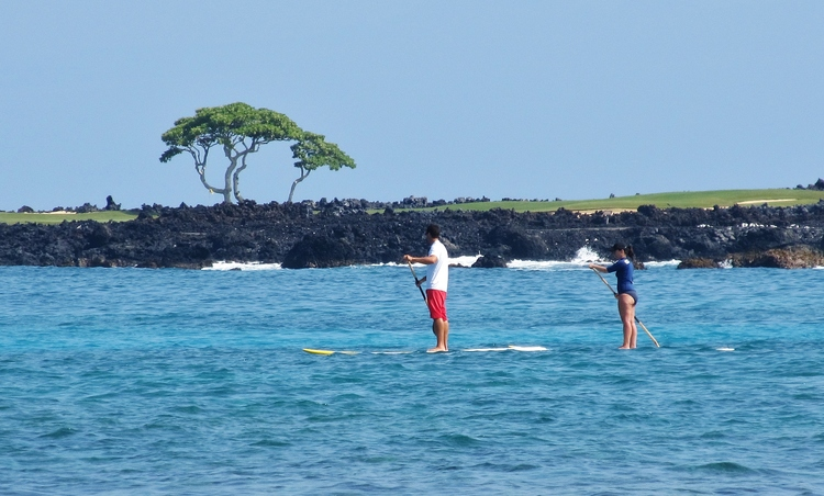 Stand up paddle boarding Hawaii