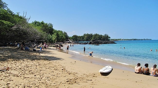 Waialea Beach 69 is a perfect beach playground just about any day of the year