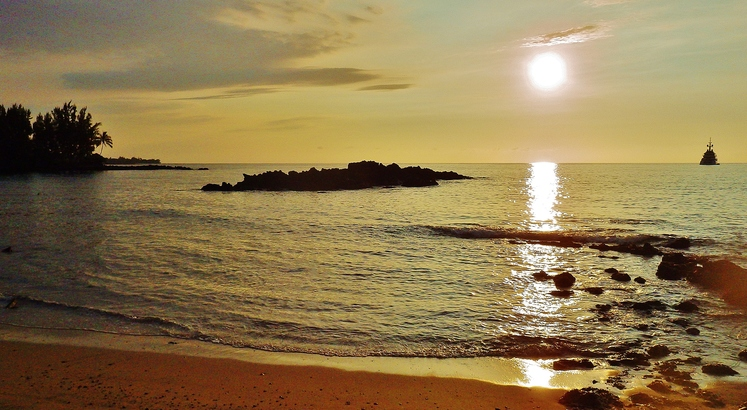 Mild Hawaii climate at Waialea Beach 69
