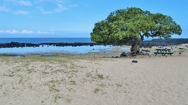 Wawaloli Beach picnic area